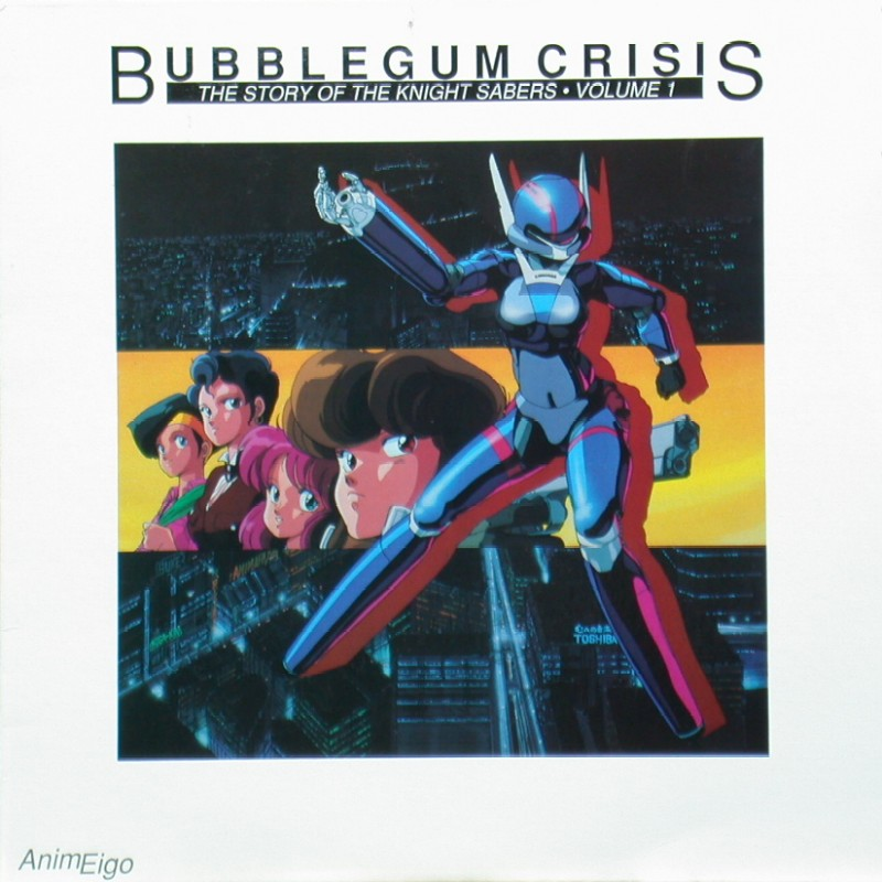 Bubblegum Crisis Volume 1 of 4: Front
